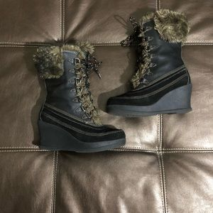 Report Klondike Wedge Boots